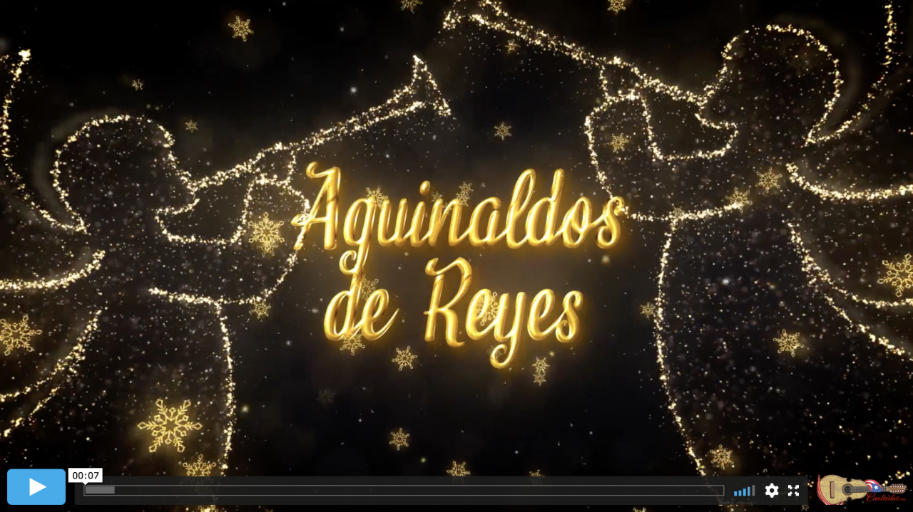 Aguinaldos of Reyes