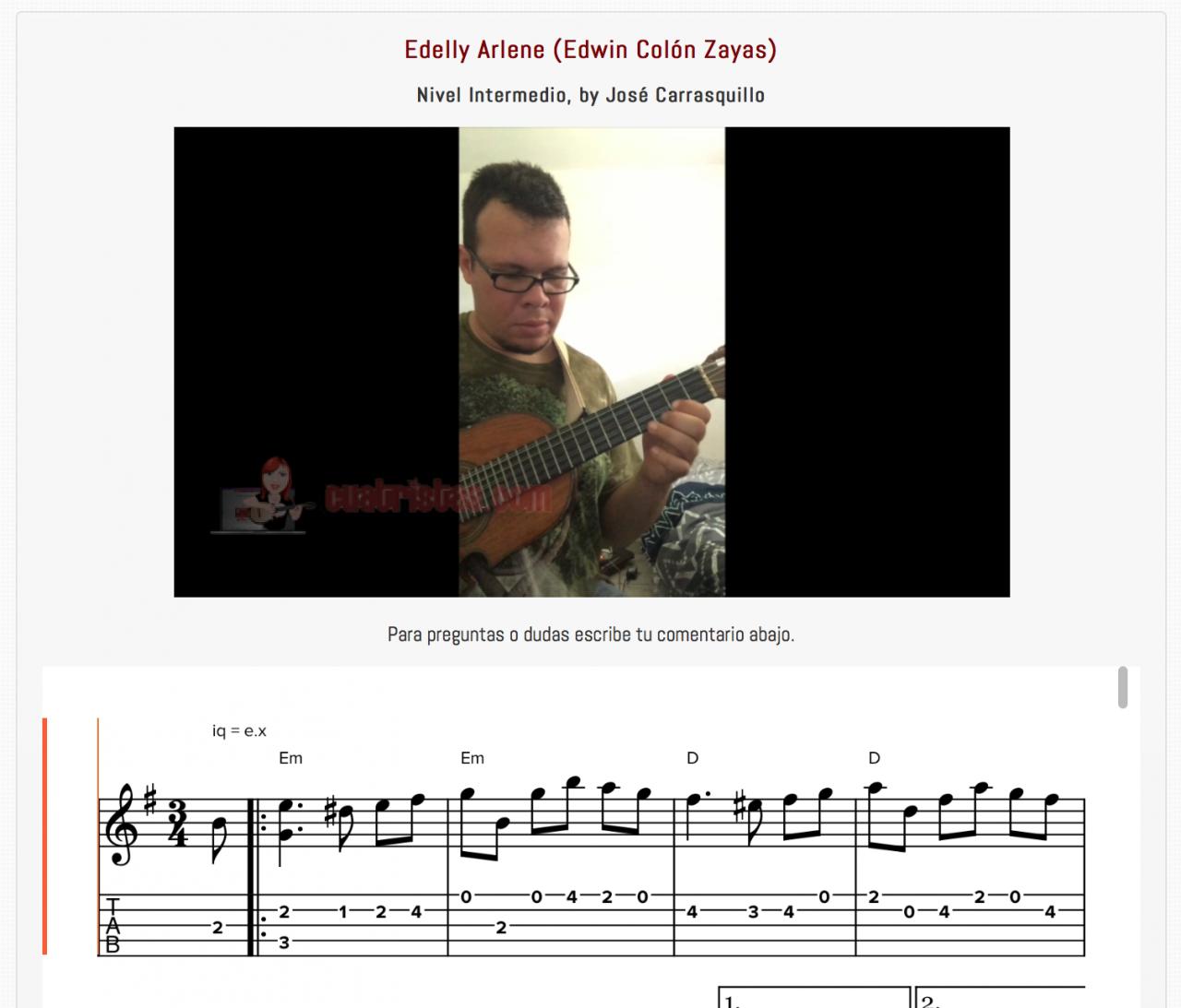Mazurka Edelly Arlene, Edwin Colon Zayas