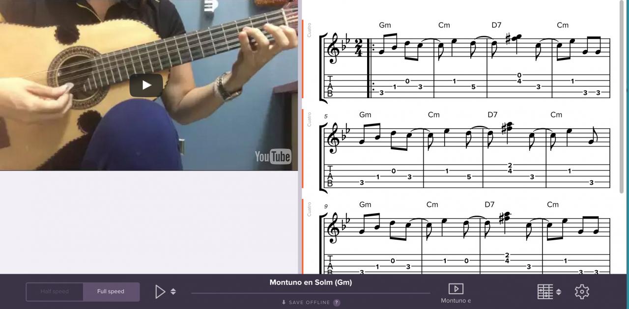 Tutorial: Montuno in G minor (Gm)