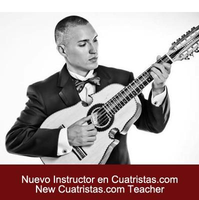 Nuevo instructor en Cuatristas.com: Jose Gabriel Muñoz